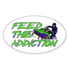 Feed The Addiction Decal