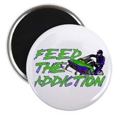 "Feed The Addiction 2.25"" Magnet (10 pack)"