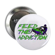 """Feed The Addiction 2.25"""" Button"""