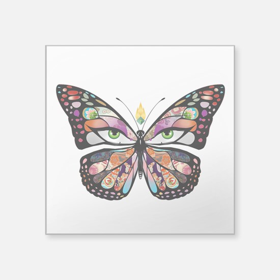"""butterpng.png Square Sticker 3"""" x 3"""""""