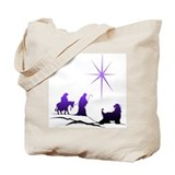 Afghan hound christmas star Totes & Shopping Bags