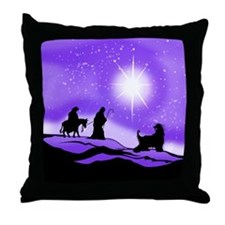 Afghan Night Divine Throw Pillow