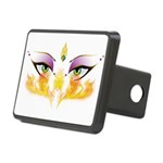 Belly Dance Shimmy Chic Rectangular Hitch Cover