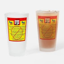 Lenin quotes Drinking Glass