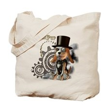 SteamPup Tote Bag