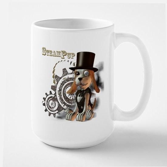 SteamPup Large Mug
