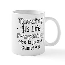 Throwing Is Life Mug