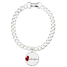 ForeverLoveInfinity Logo Charm Bracelet, One Charm