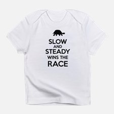 Slow and Steady Wins the Race Infant T-Shirt