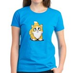Yellow Tabby Cutie Cat Women's Dark T-Shirt