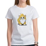 Yellow Tabby Cutie Cat Women's T-Shirt