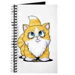 Yellow Tabby Cutie Cat Journal