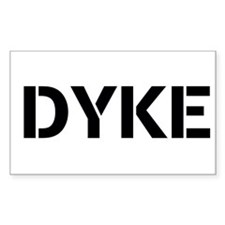 DYKE Decal