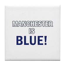 City Football Designs Tile Coaster