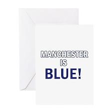 City Football Designs Greeting Card