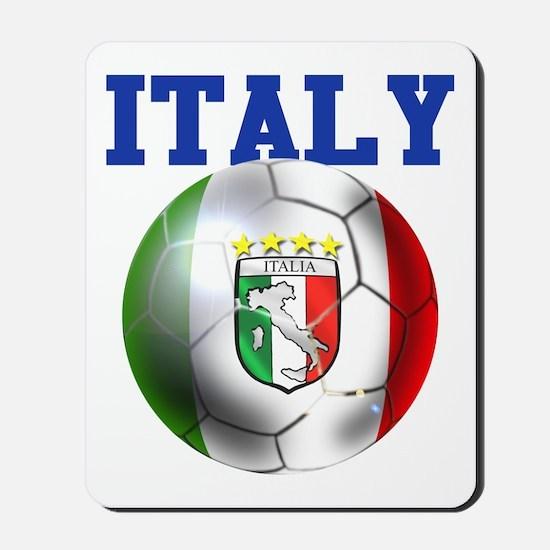 Italy Soccer Ball Mousepad