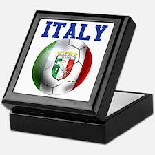 Italy Soccer Ball Keepsake Box