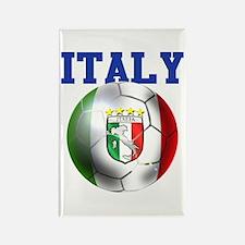 Italy Soccer Ball Rectangle Magnet (100 pack)