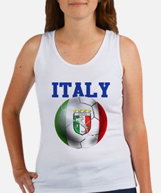 Italy Soccer Ball Women's Tank Top