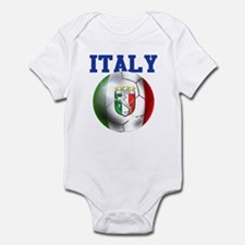 Italy Soccer Ball Infant Bodysuit