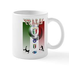 Italia Italian Football Mug