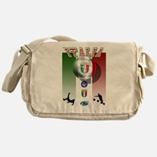 Italia Italian Football Messenger Bag