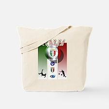Italia Italian Football Tote Bag