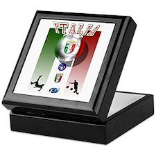Italia Italian Football Keepsake Box