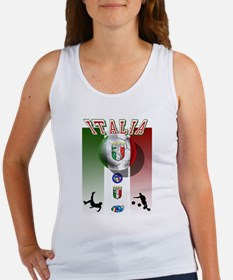 Italia Italian Football Women's Tank Top