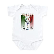 Italia Italian Football Infant Bodysuit