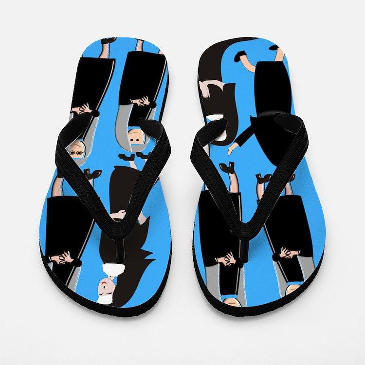 ff nuns 2 blue.PNG Flip Flops
