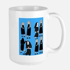 ff nuns 2 blue.PNG Mug