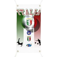 Italia Italian Football Banner