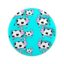 """ff cows.PNG 3.5"""" Button (100 pack)"""
