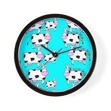 ff cows.PNG Wall Clock