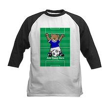 Personalized kids soccer bear Tee