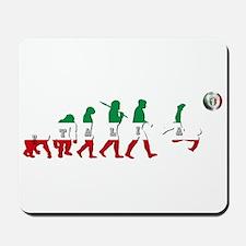 Evolution of Italian Football Mousepad