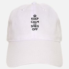 Keep Calm And Smeg Off Baseball Baseball Cap