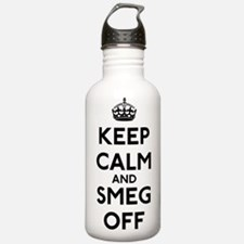 Keep Calm And Smeg Off Sports Water Bottle