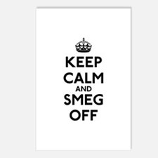 Keep Calm And Smeg Off Postcards (Package of 8)
