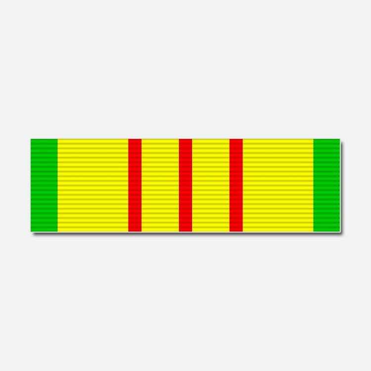 Vietnam Service Medal Car Magnet 10 x 3