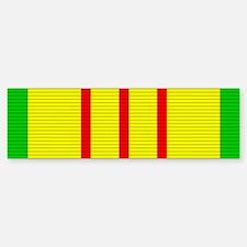Vietnam Service Medal Bumper Bumper Sticker