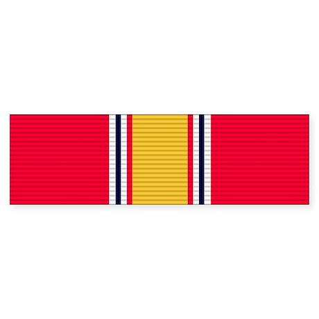 National Defense Service Medal Sticker (Bumper 50