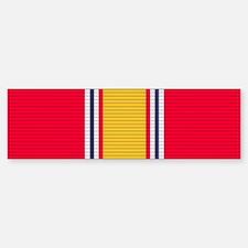 National Defense Service Medal Bumper Bumper Sticker