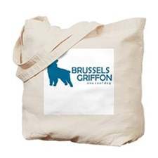 "Brussels Griffon ""One Cool Dog"" Tote Bag"