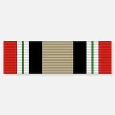 Iraq Campaign Medal Bumper Bumper Sticker
