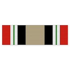 Iraq Campaign Medal Bumper Sticker