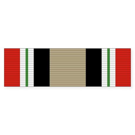 Iraq Campaign Medal Sticker (Bumper)