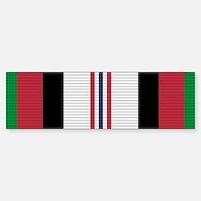 Afghanistan Campaign Medal Bumper Bumper Sticker
