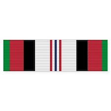 Afghanistan Campaign Medal Bumper Sticker